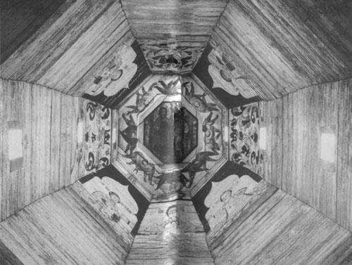 Роспись ярусов церкви вознесения