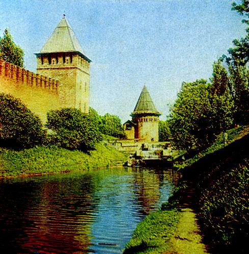 Г смоленск у крепостной стены